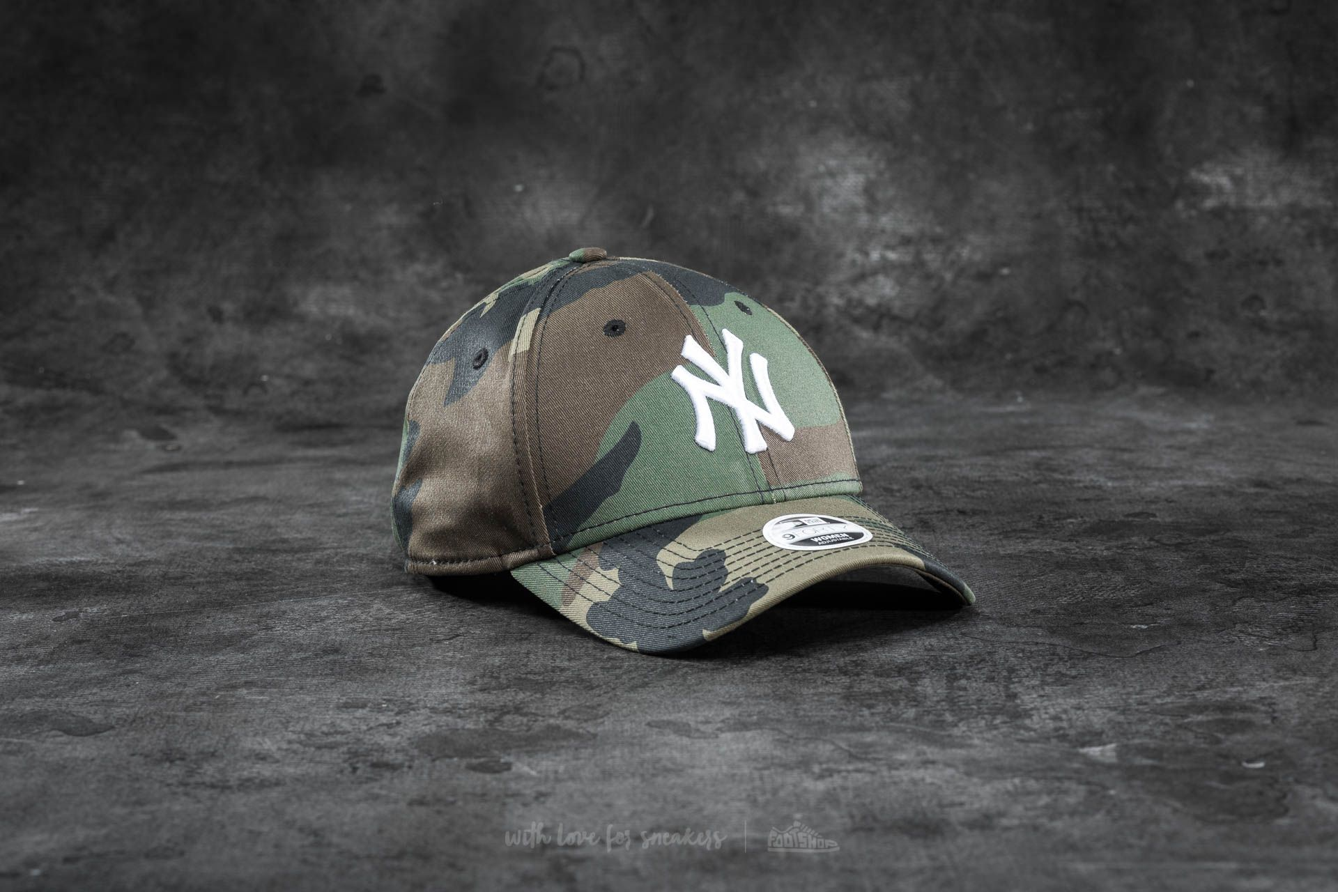 New Era 9Forty Adjustable MLB League Essential New York Yankees Cap Camo Footshop – FR