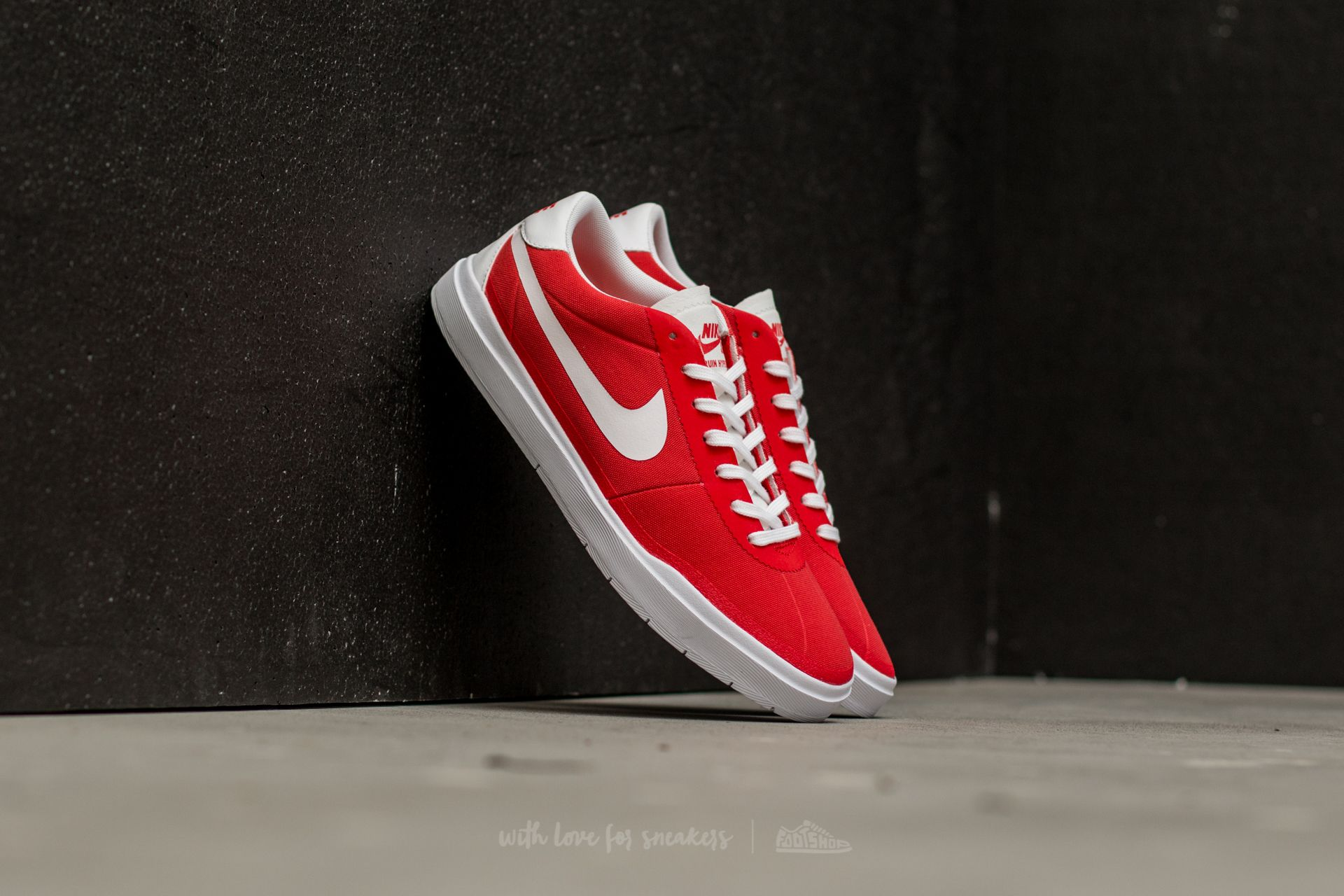 Nike SB Bruin Hyperfeel Canvas Track Red/ White-White-White Footshop – FR