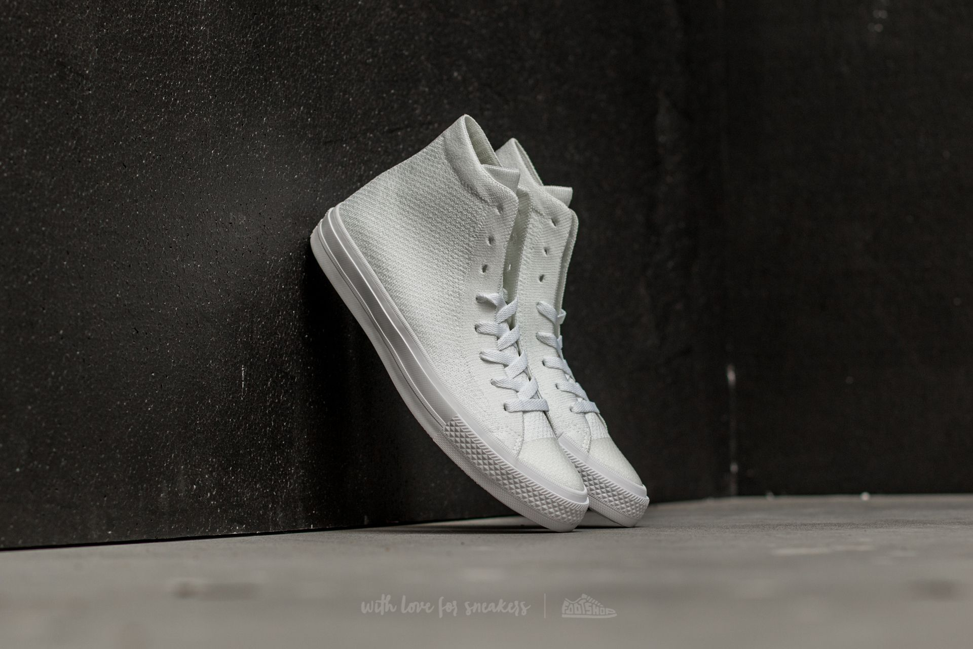 Converse Chuck Taylor All Star II Flyknit Hi White/ White/ White Footshop – FR