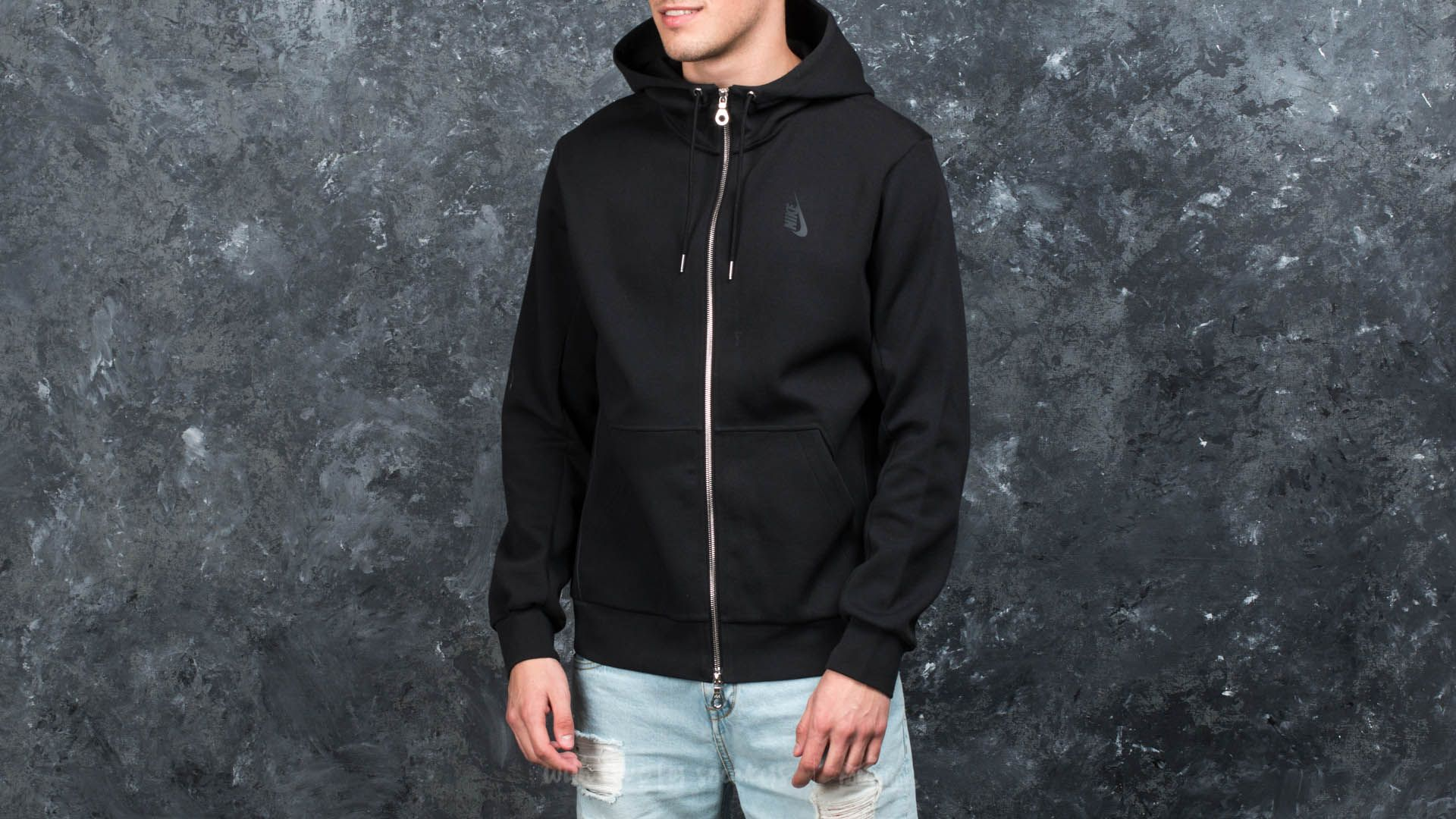 NikeLab Essentials Hoodie Black/ Dust Footshop – FR
