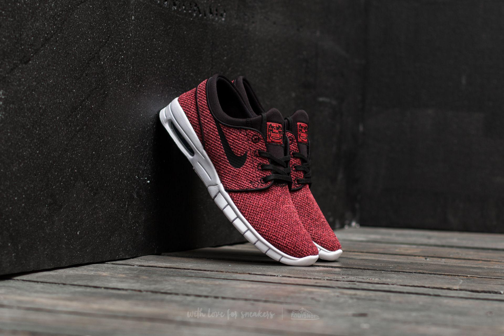 Nike Stefan Janoski Max Track Red/ Black-Cedar Footshop – FR