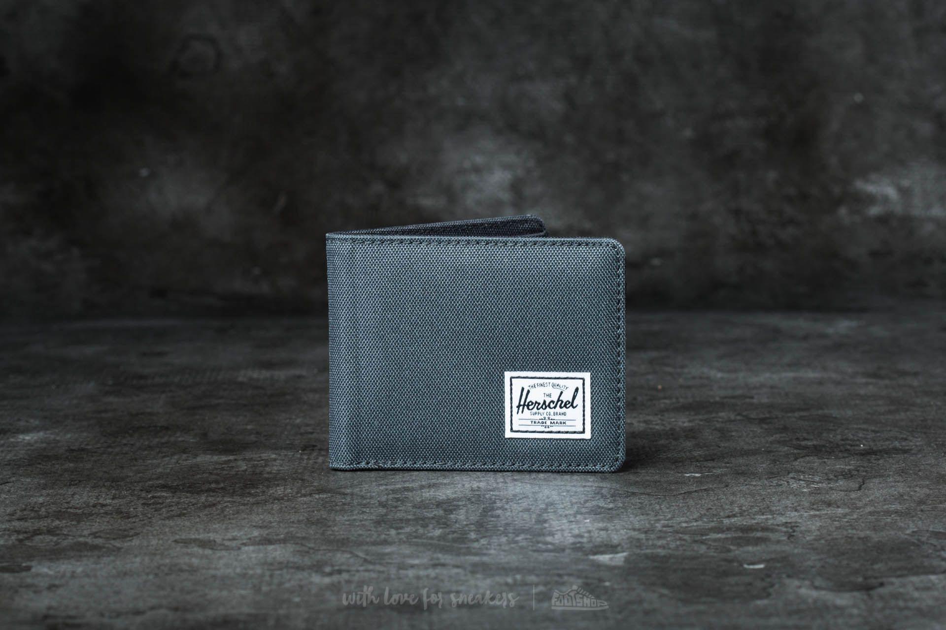 Herschel Supply Co. Roy + Wallet Black/ Dark Shadow Footshop – FR