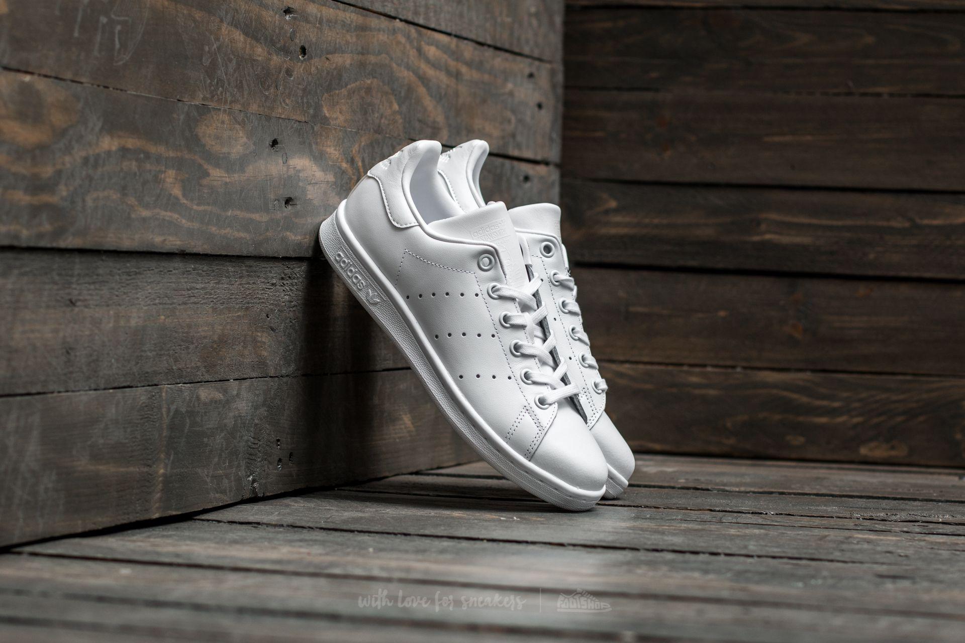 adidas Stan Smith J Ftw White/ Ftw White/ Ftw White Footshop – FR