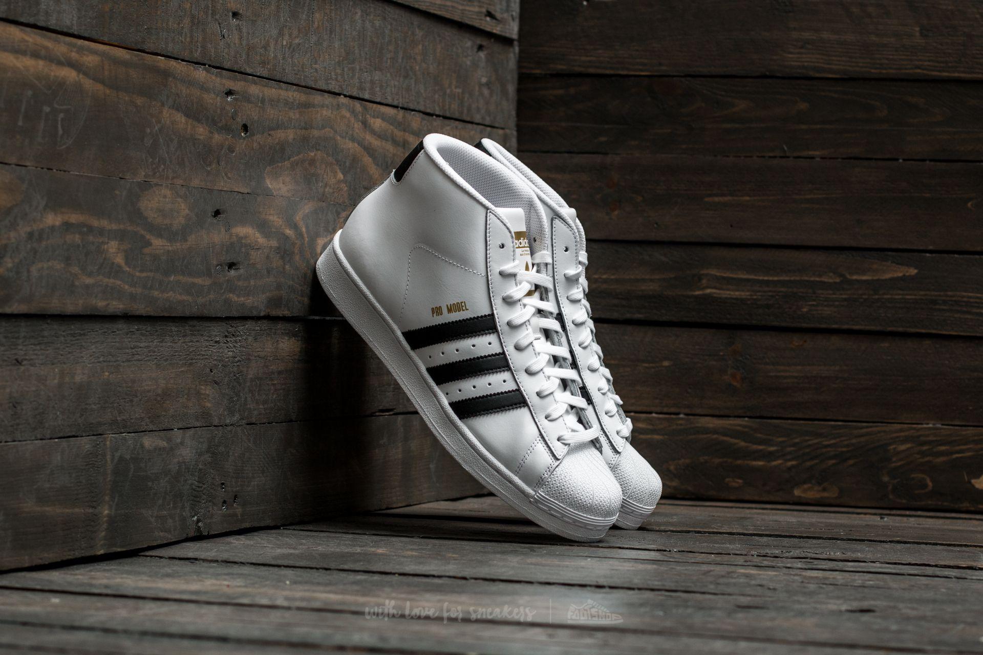 adidas Pro Model Ftw White/ Core Black/ Ftw White Footshop – FR