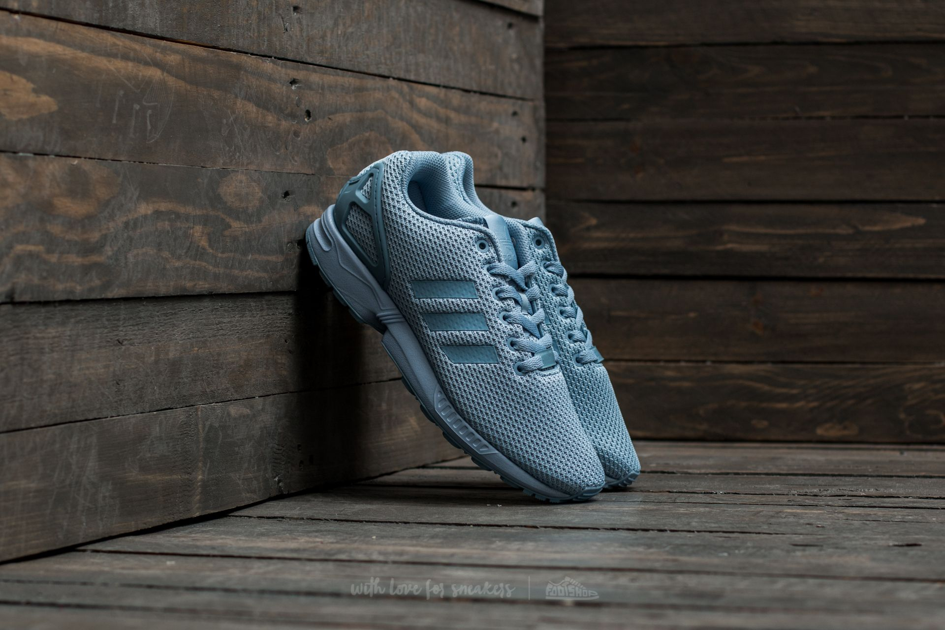 adidas ZX Flux Tacticle Blue/ Tacticle Blue/ Tacticle Blue Footshop – FR