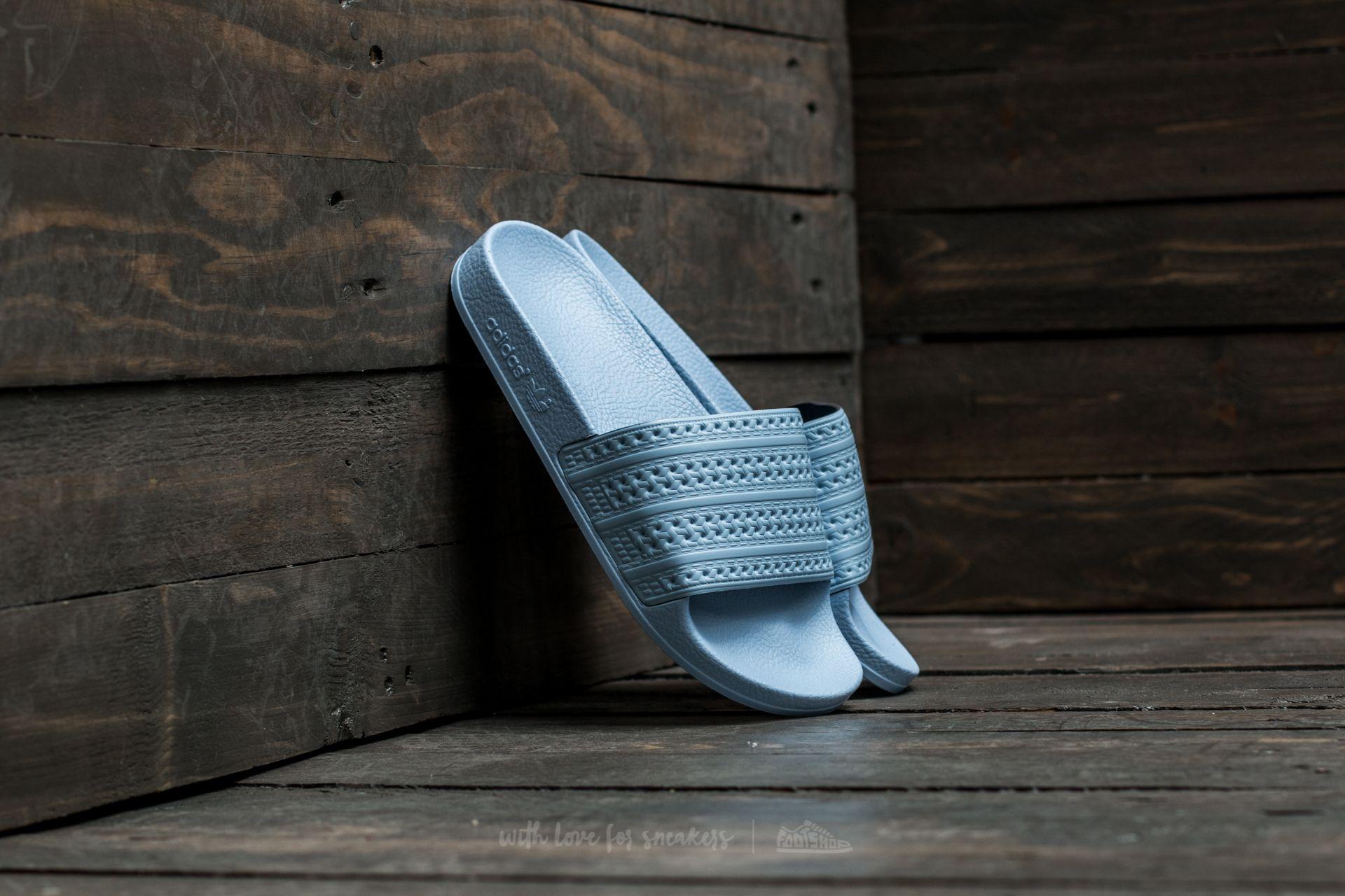 adidas Adilette Easy Blue/ Easy Blue/ Easy Blue Footshop – FR