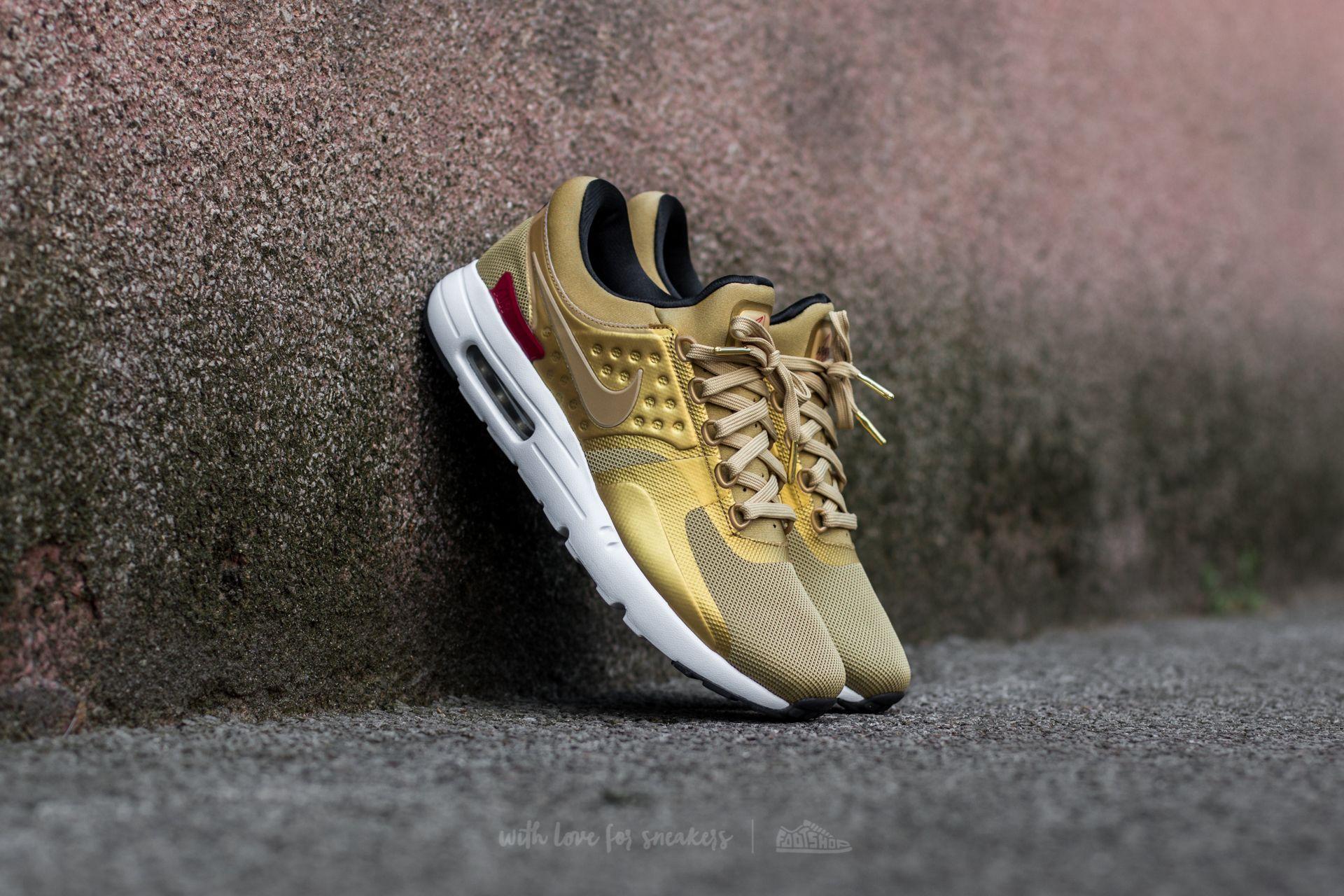 Nike Air Max Zero QS Metallic Gold/ Varsity Red Footshop – FR