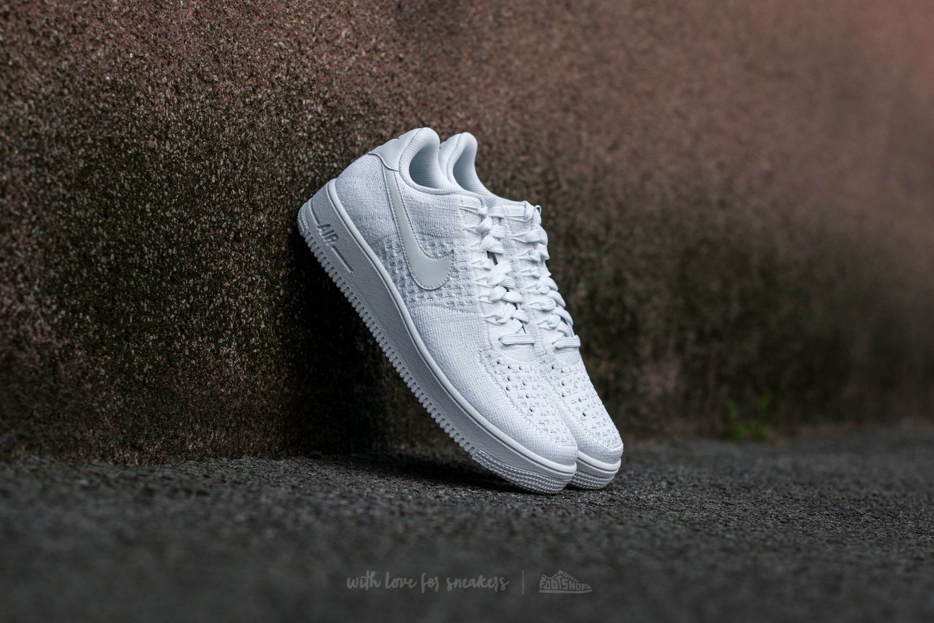 Nike Air Force 1 Ultra Flyknit Low White/ White-White Footshop – FR