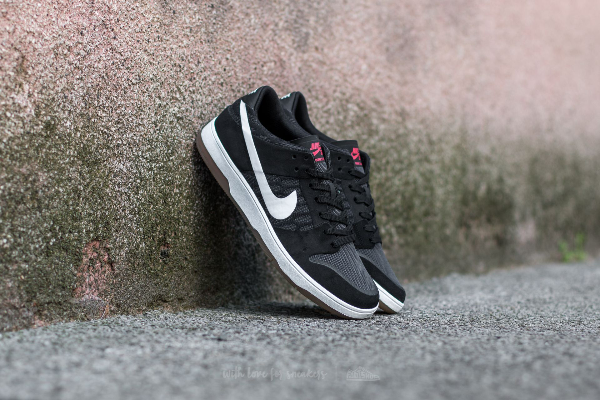 Nike SB Zoom Dunk Low Elite Black/ White-Gum Light Brown Footshop – FR