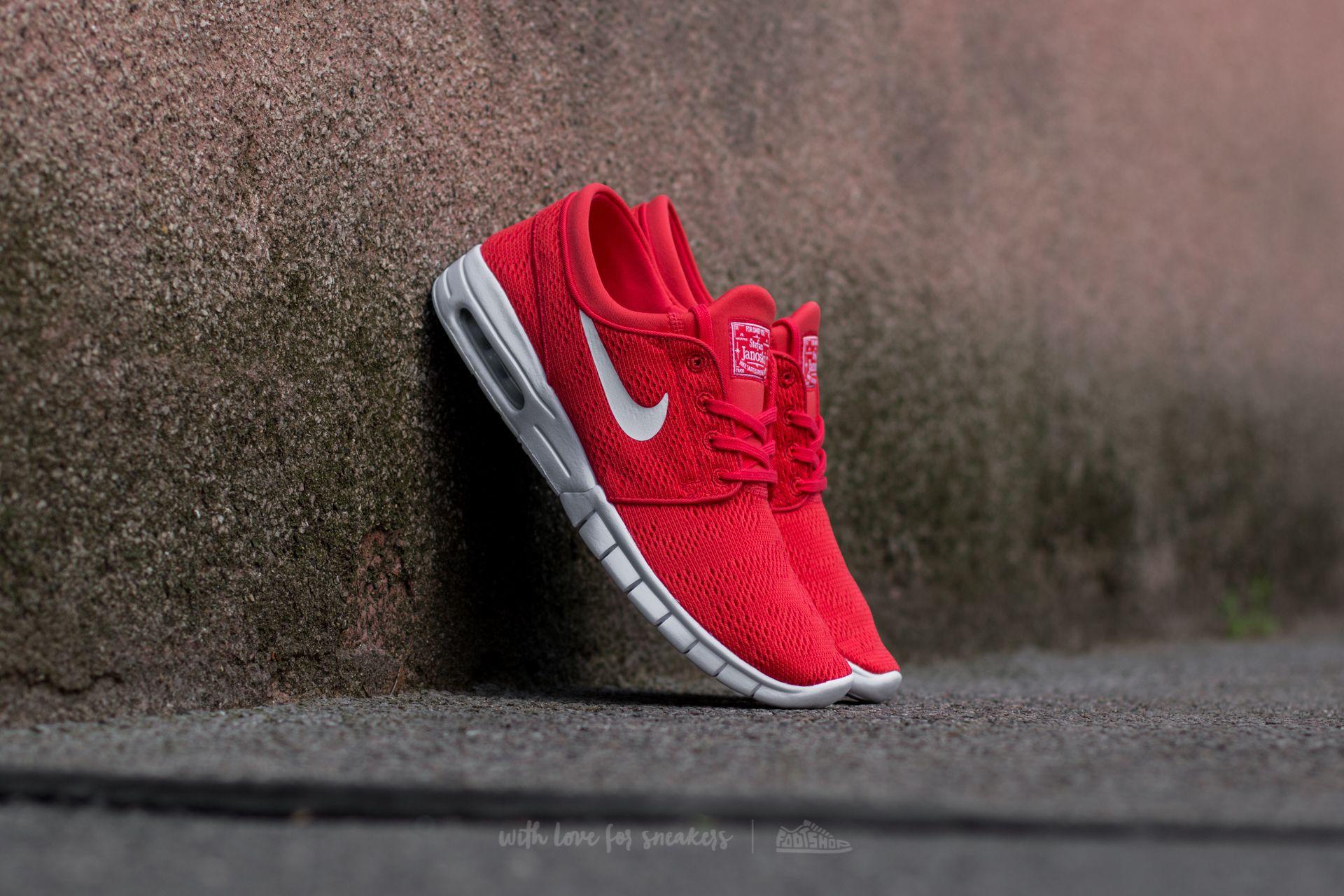 Nike Stefan Janoski Max Track Red/ White Footshop – FR
