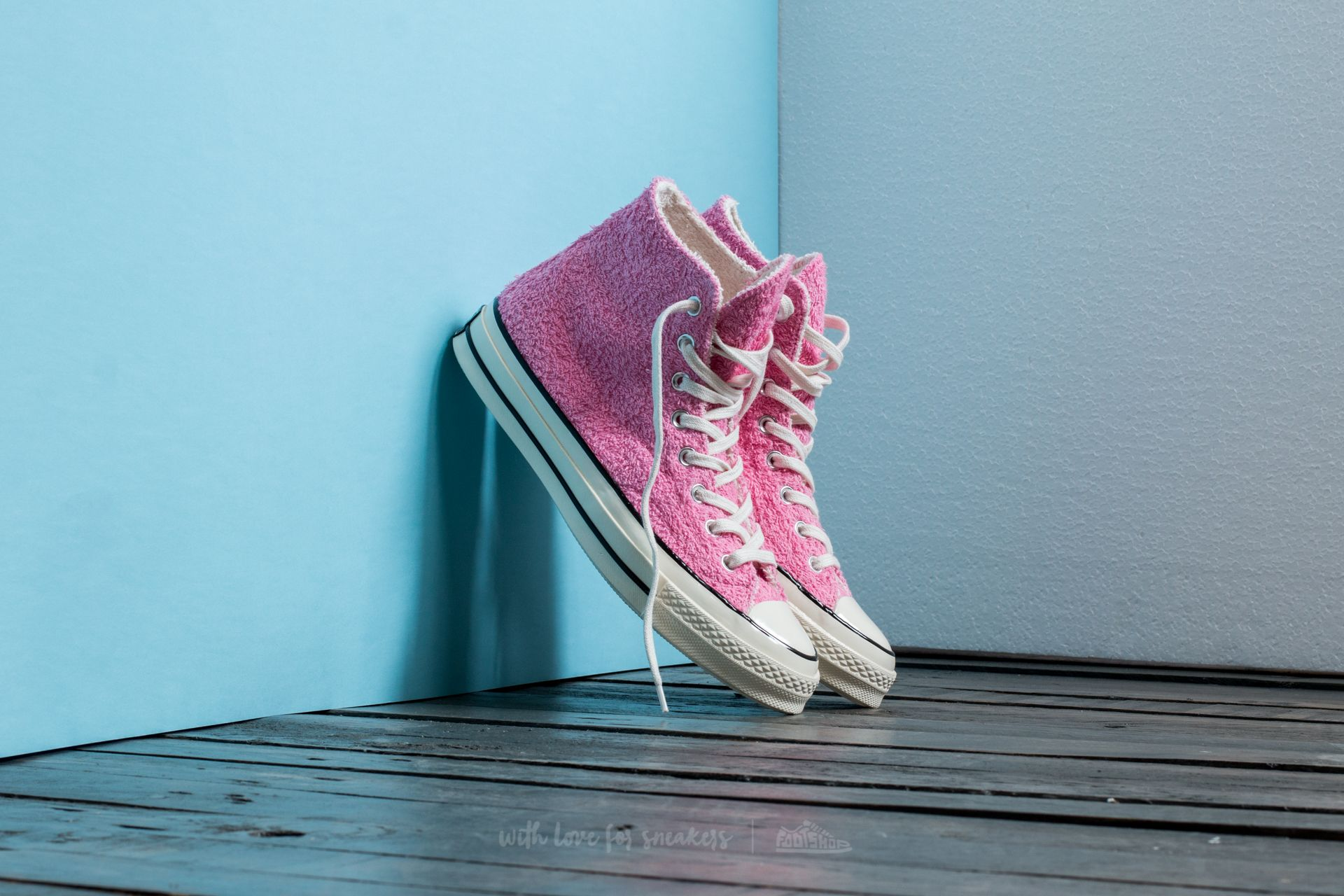 Chuck Taylor All Star '70 Hi Pink/ Egret/ Black Footshop – FR
