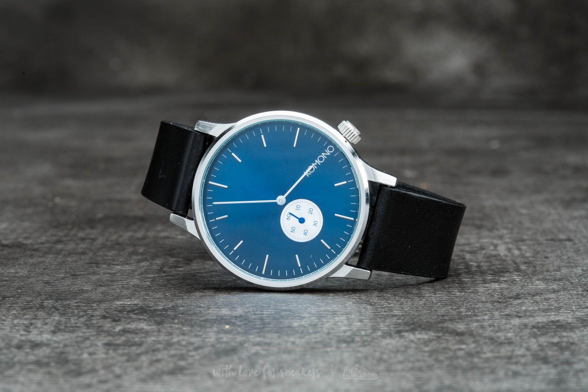 Komono Winston Subs Silver/ Blue Footshop – FR