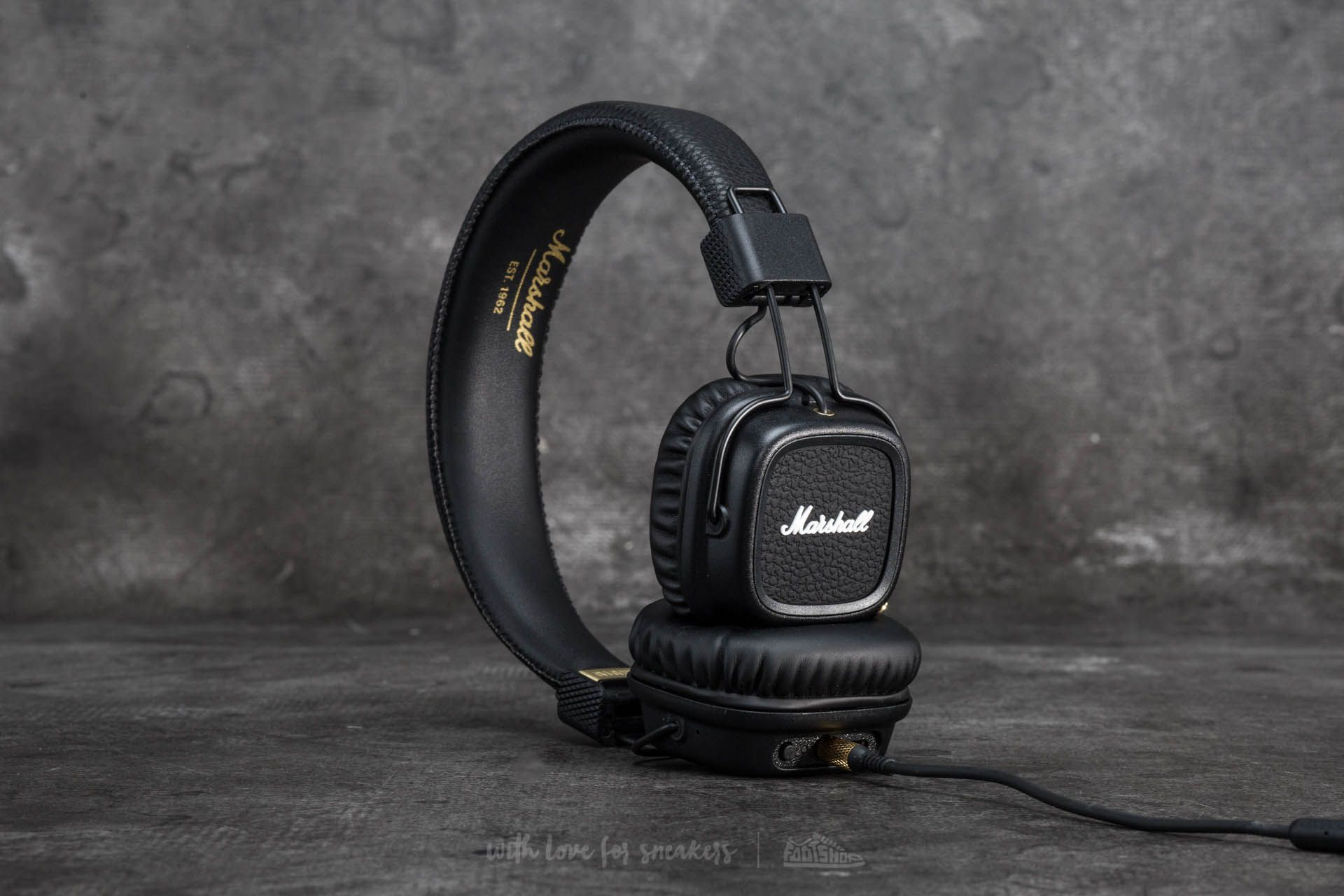 Marshall Major II Bluetooth Black Footshop – FR