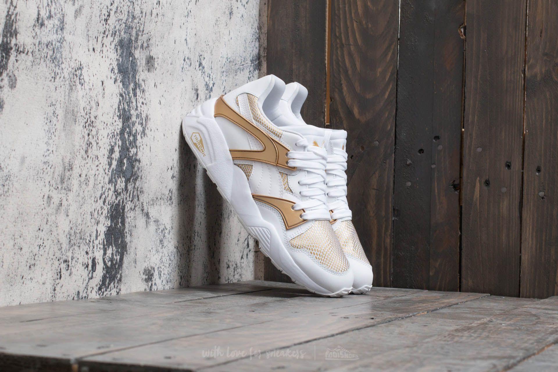 Puma Blaze Gold Wn's Puma White-Puma White Footshop – FR