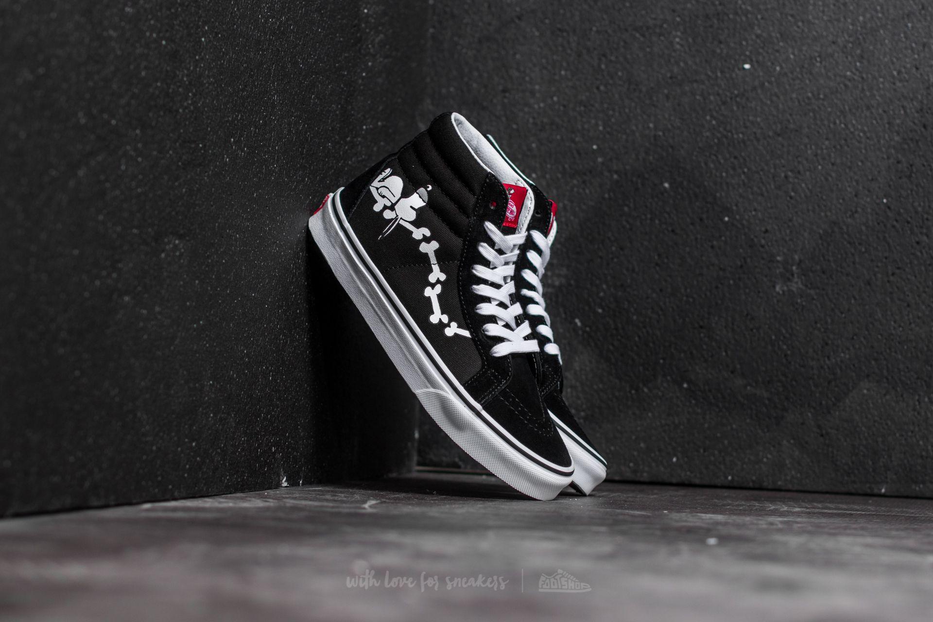 Vans x Peanuts SK8-Hi Reissue Snoopy Bones/ Black Footshop – FR