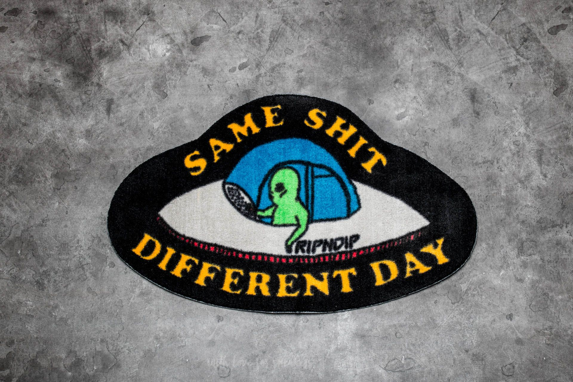 RIPNDIP Same Shit Different Day Rug Black Footshop – FR