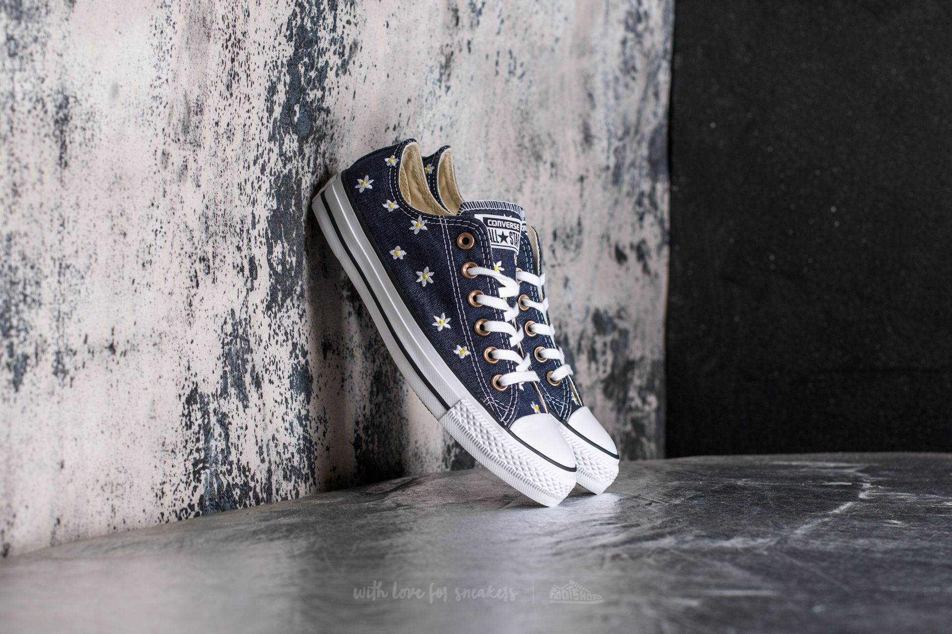 Converse Chuck Taylor All Star Ox Navy/ Fresh Yellow/ White Footshop – FR