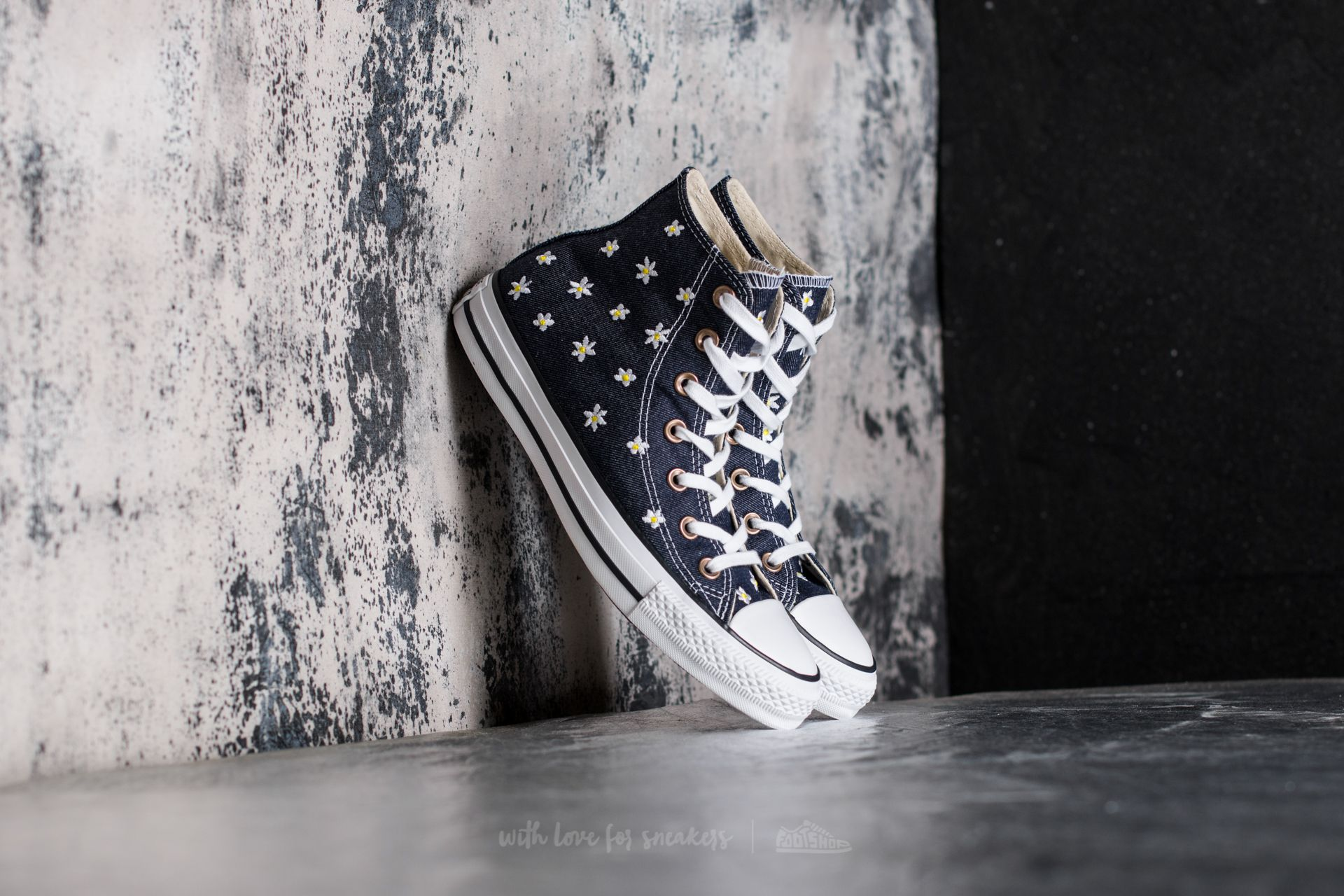 Converse Chuck Taylor All Star Hi Navy/ Fresh Yellow/ White Footshop – FR