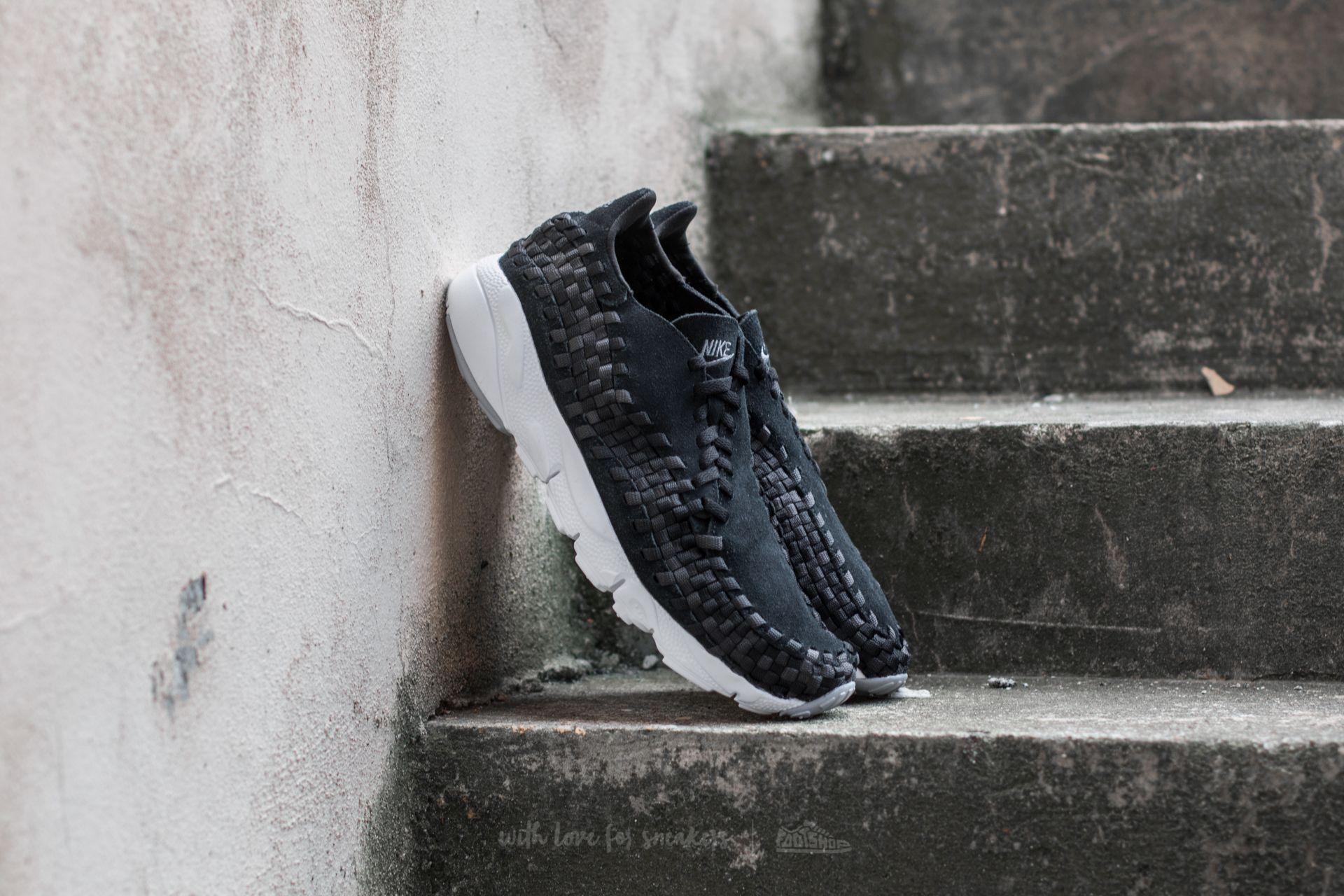 Nike Air Footscape Woven NM Black/ Dark Grey-Wolf Grey Footshop – FR