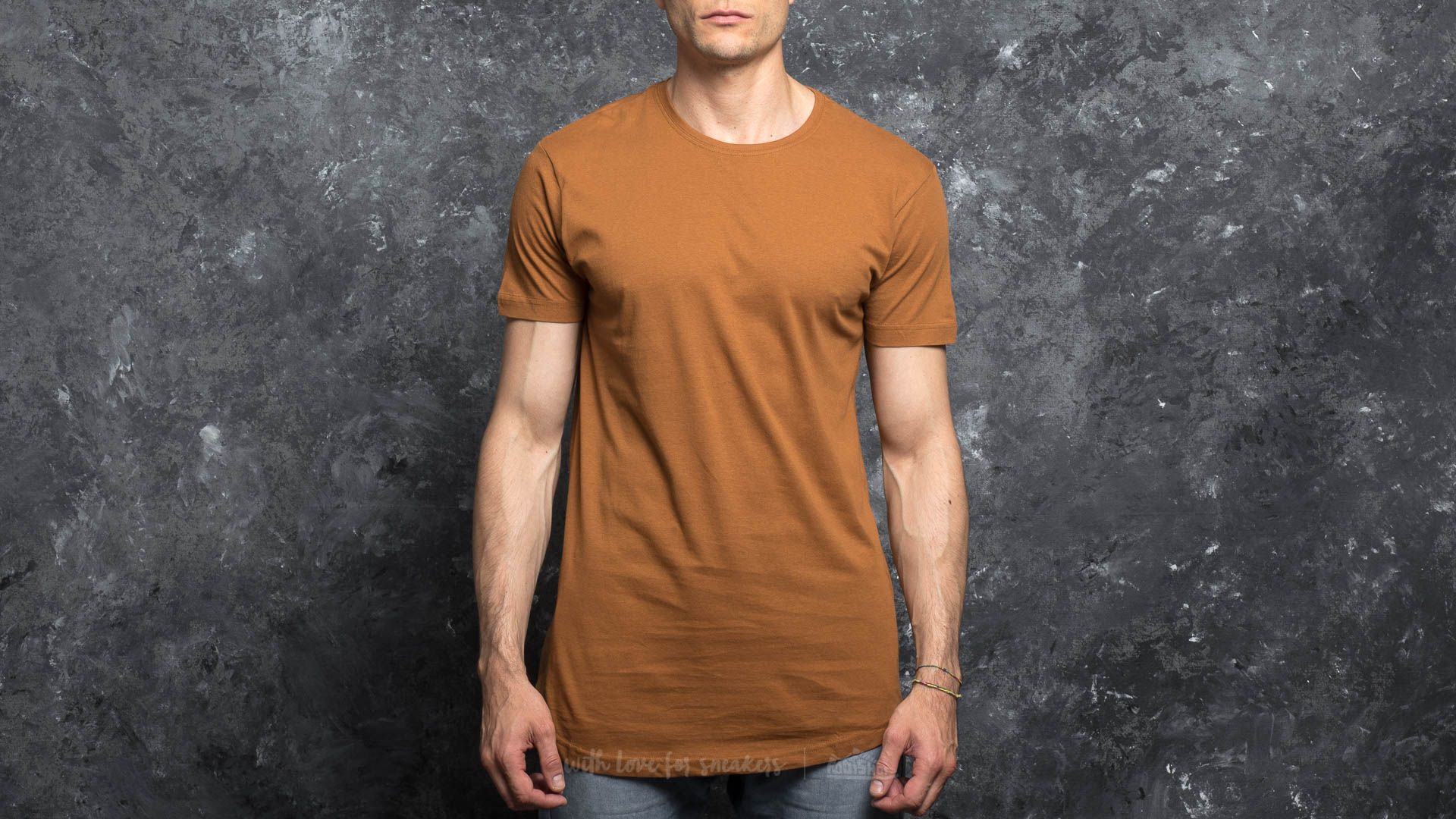 Urban Classics Shaped Long Tee Toffee Footshop – FR