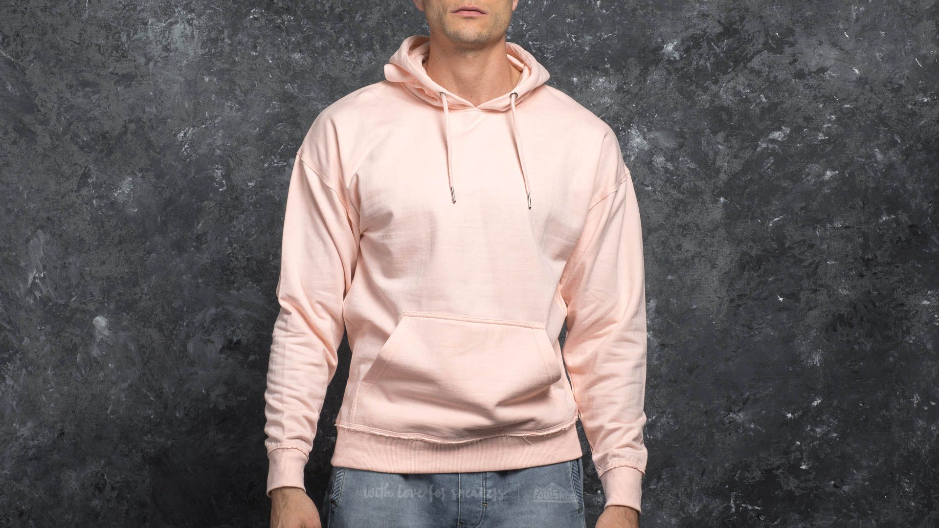 Urban Classics Oversized Sweat Hoody Pink Footshop – FR