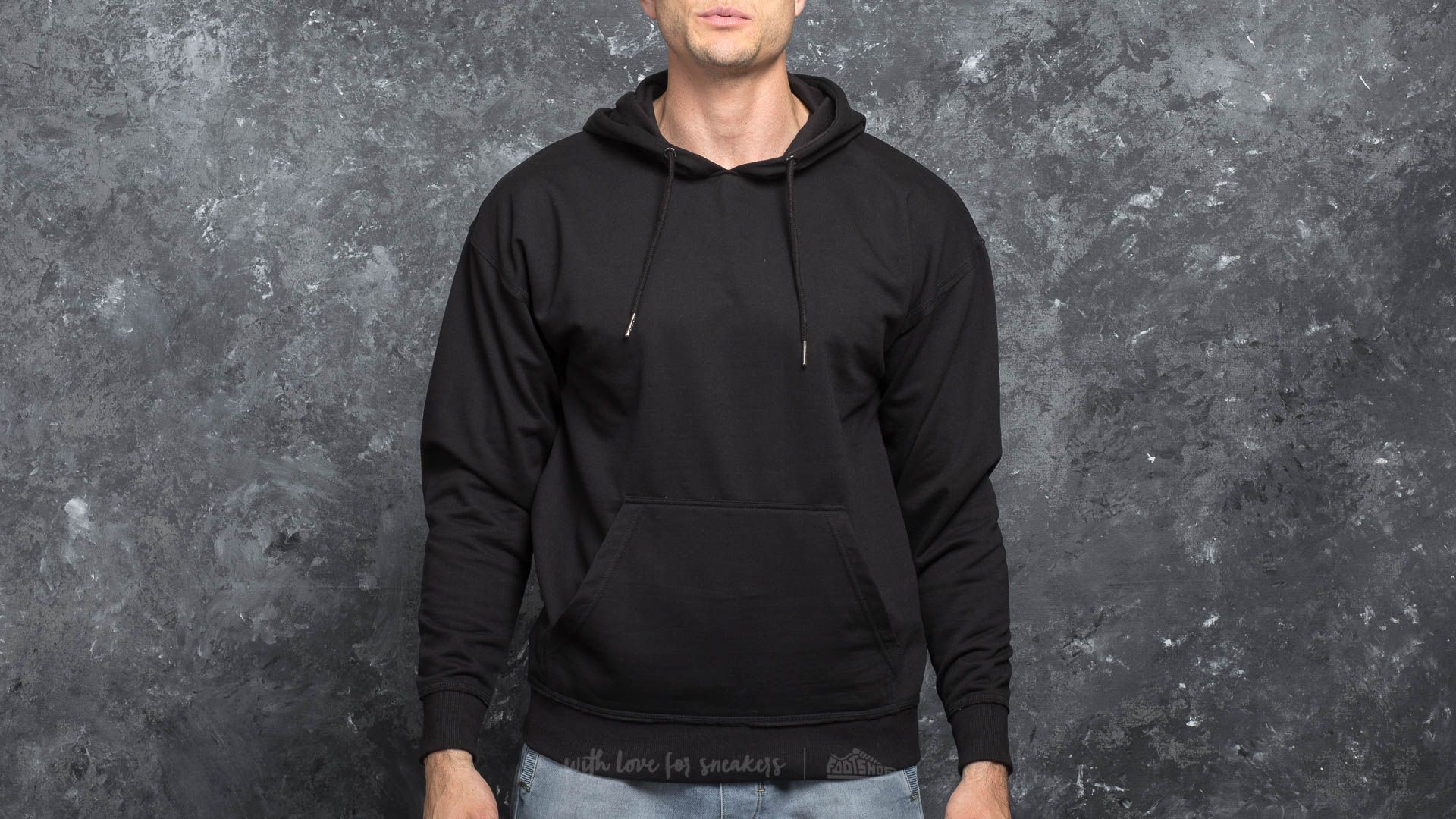 Urban Classics Oversized Sweat Hoody Black Footshop – FR
