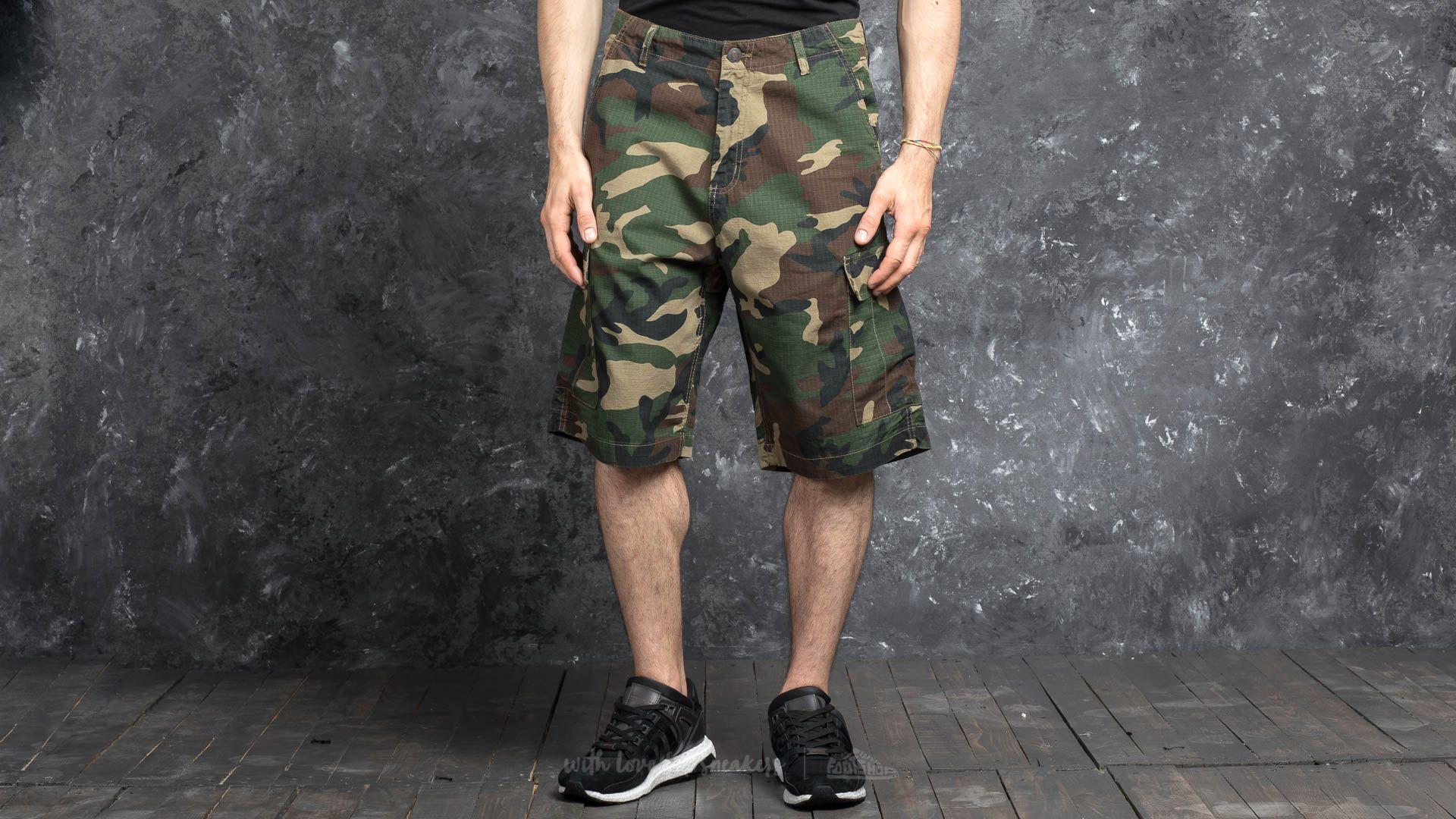 Urban Classics Camouflage Cargo Shorts Wood Camo Footshop – FR