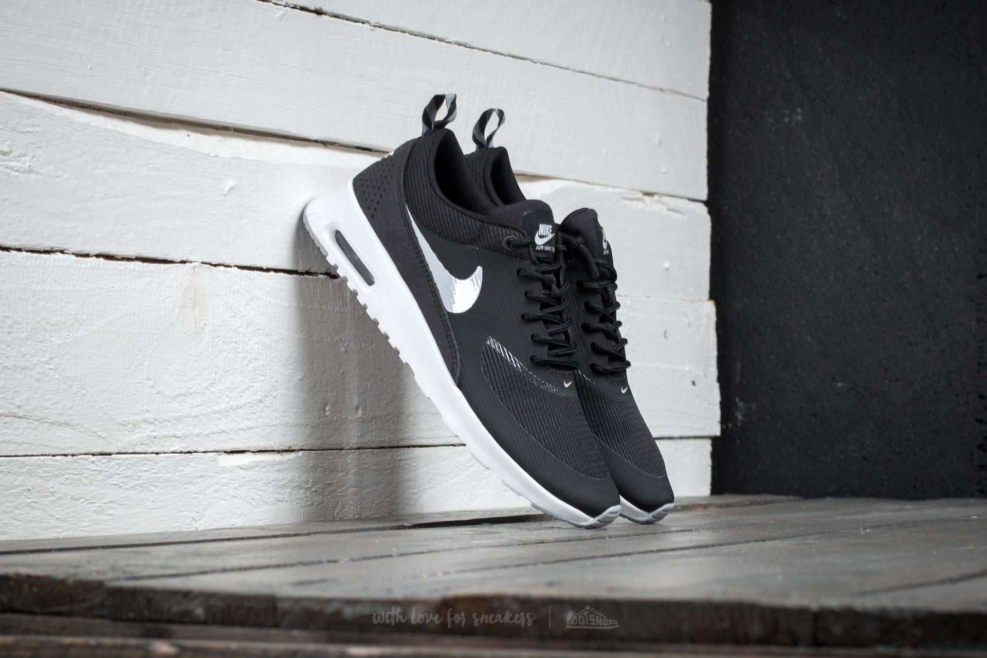Wmns Nike Air Max Thea Black/ Wolf Grey Anthracite White Footshop – FR
