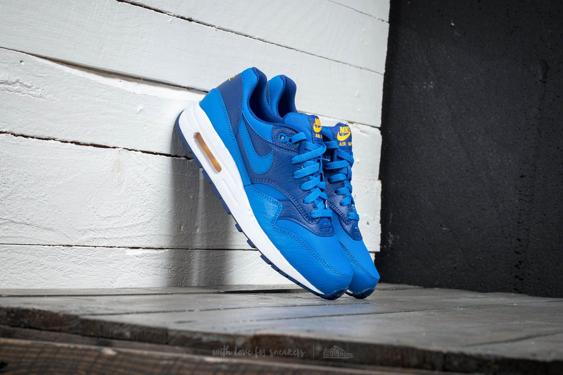 Nike Air Max 1 (GS) Hyper Coblat/ Hyper Cobalt-Deep Royal Bllue