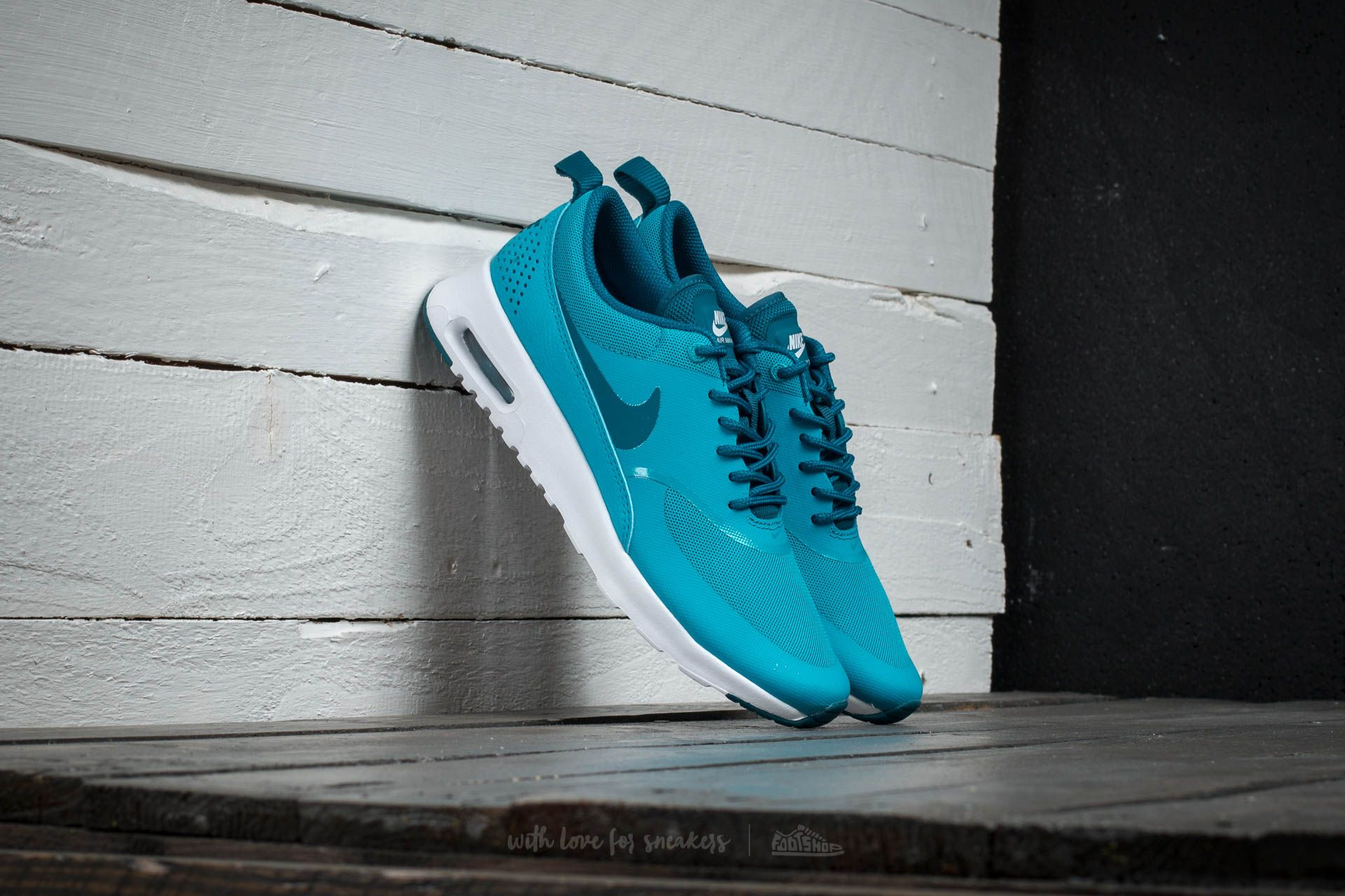 Nike Wmns Air Max Thea Blue Lagon/ Green Abyss-White Footshop – FR