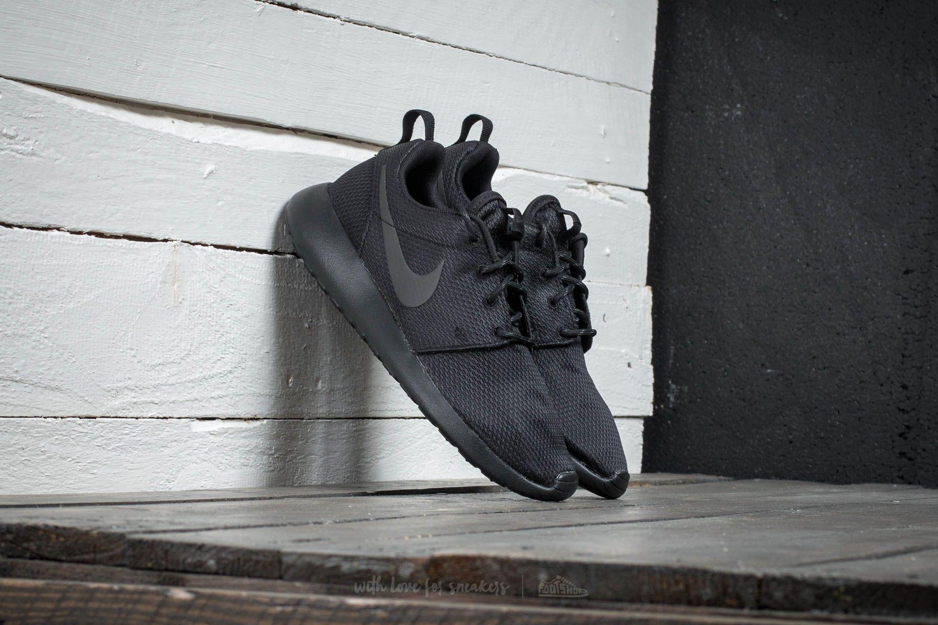 Nike Wmns Roshe One Black/ Black- Anthracite Footshop – FR
