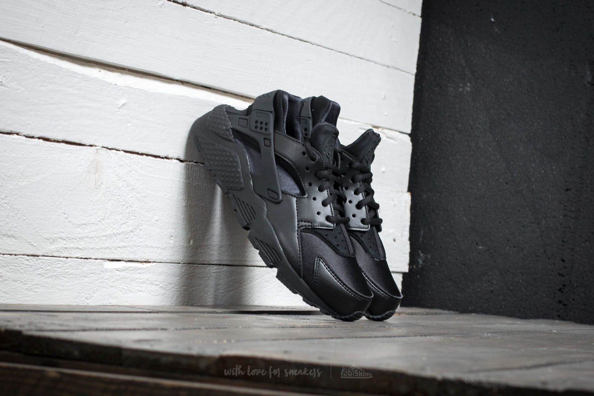 Nike Wmns Air Huarache Run Black/Black Footshop – FR