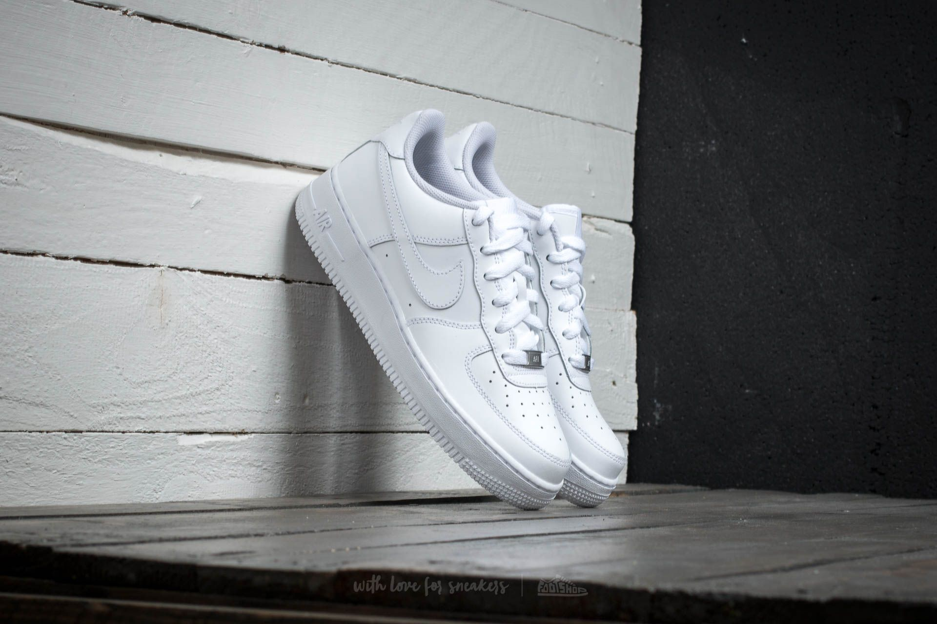 Nike Air Force 1 (GS) White Footshop – FR
