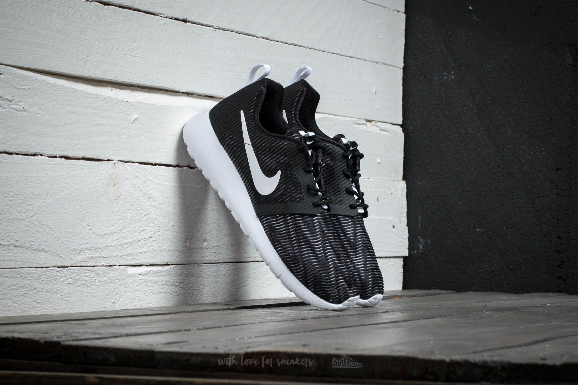 Nike Roshe One Flight Weight (GS) Black/ White Footshop – FR