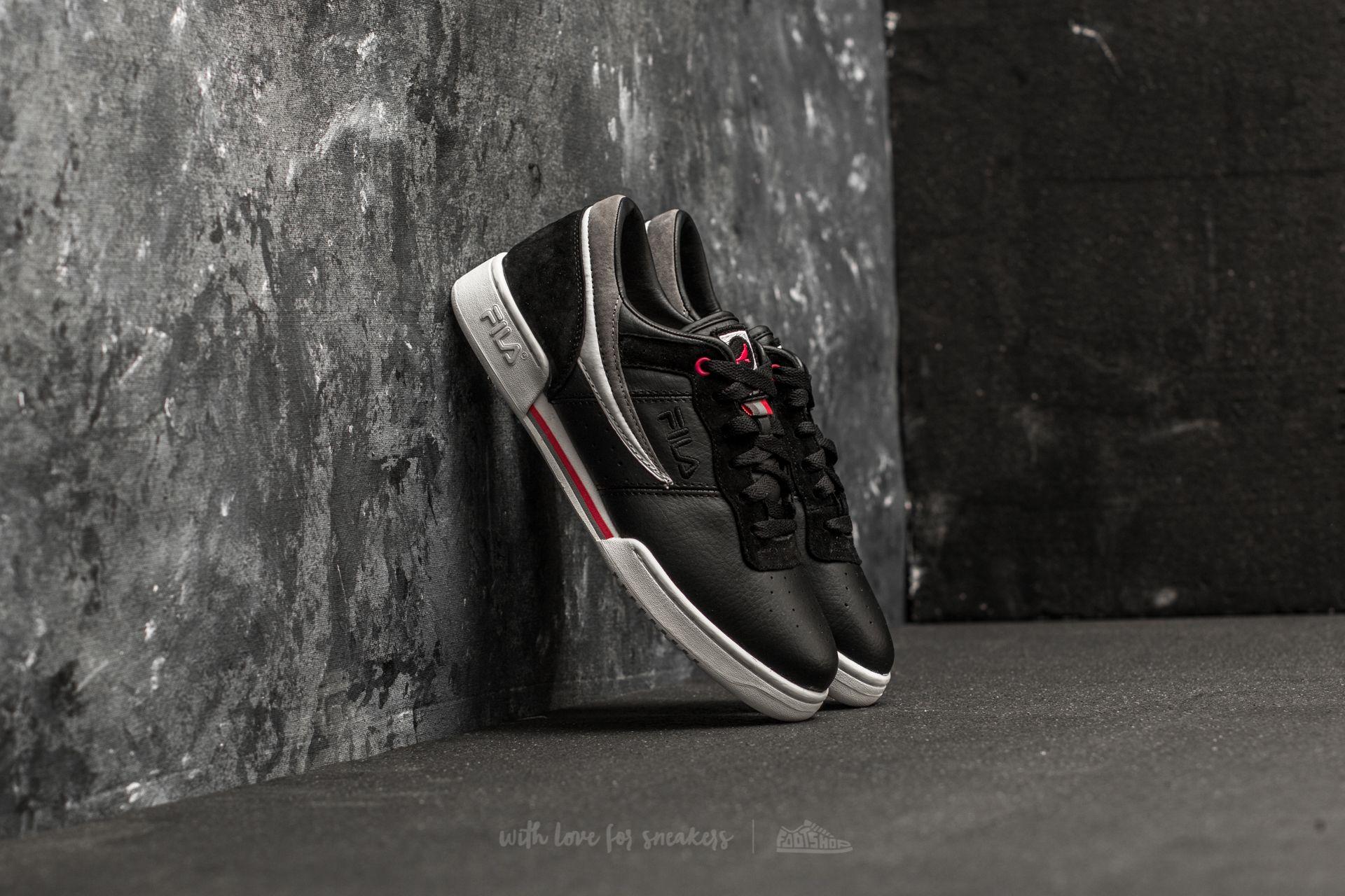 Fila x Staple Original Fitness Black/ Grey/ Pink Footshop – FR