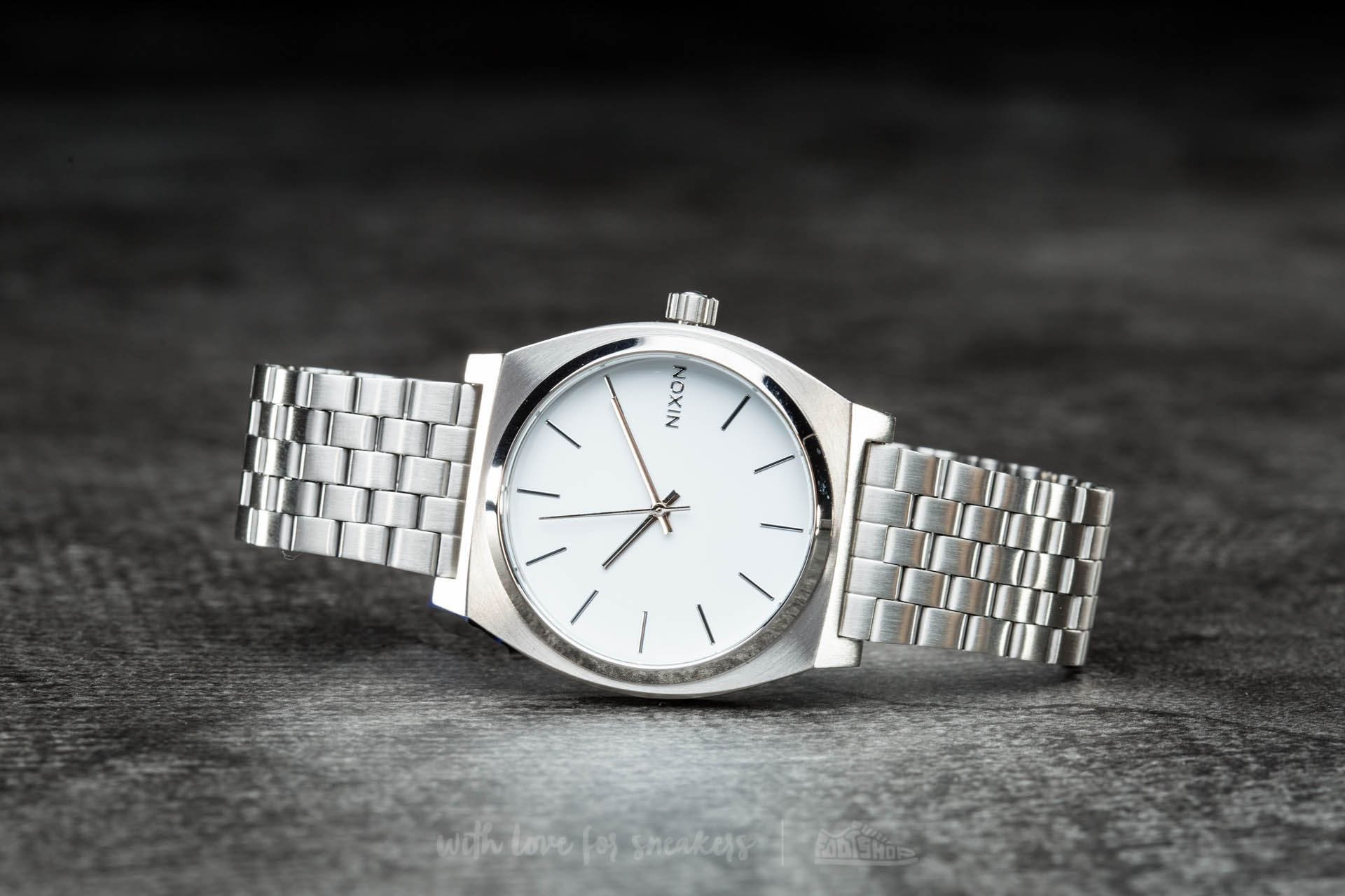 Nixon Time Teller White Footshop – FR
